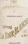 1997年 シャトー ラトゥール ブランシュ CHATEAU LA TOUR BLANCHE