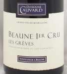 2002年 ボーヌ プルミエ クリュ レ グレーブ BEAUNE 1ER LES GREVES CAUVARD