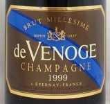 1999年 コルドン ブルー ブリュット ミレジム CORDON BLEU BRUT MILLESIME DE VENOGE
