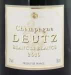2010年 ブラン ド ブラン ミレジメ BLANC DE BLANCS MILLESIME DEUTZ