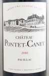 2010年 シャトー ポンテカネ CHATEAU PONTET CANET