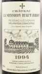 1994年 シャトー ラ ミッション オー ブリオン CHATEAU LA MISSION HAUT BRION