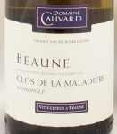 1999年 ボーヌ クロ ド ラ マラディエール モノポール ブラン BEAUNE CLOS DE LA MALADIERE MONOPOLE BLANC DOMAINE CAUVARD
