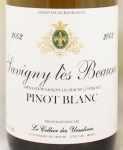 2002年 サヴィニ レ ボーヌ ピノ ブラン SAVIGNY LES BEAUNE PINOT BLANC CELLIER DES URSULINES