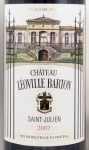 2007年 シャトー レオヴィル バルトン CHATEAU LEOVILLE BARTON