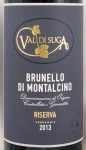 2013年 ブルネッロ ディ モンタルチーノ レゼルヴァ BRUNELLO DI MONTALCINO RISERVA VAL DI SUGA