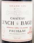 2001年 シャトー ランシュ バージュ CHATEAU LYNCH BAGES