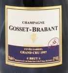 1997年 キュヴェ ガブリエル グラン クリュ ブリュット QUVEE GABRIEL GRAND CRU BRUT GOSSET BRABANT