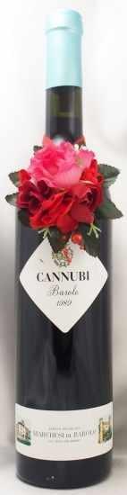 1989年 バローロ カンヌビ BAROLO CANNUBI MARCHESI DI BAROLO