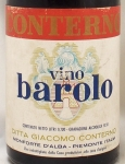 1961年 バローロ BAROLO GIACOMO CONTERNO