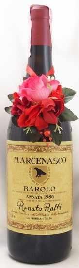 1986年 バローロ マルチェナスコ BAROLO MARCENASCO RENATO RATTI