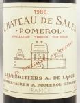 1986年 シャトー ド サル CHATEAU DE SALES