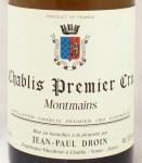 1996年 シャブリ プルミエ クリュ モンマン CHABLIS PREMIER CRU MONTMAIN JEAN PAUL & BENOIT DROIN