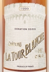 1999年 シャトー ラトゥール ブランシュ CHATEAU LA TOUR BLANCHE