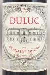 2016年 デュリュック ド ブラネール デュクリュ DULUC DE BRANAIRE DUCRU